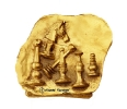 Chess trophy 1999-Goldplated