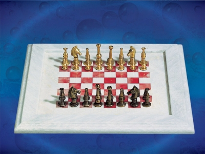 Red&white Chess Board_5