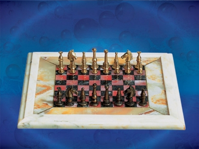 Red&black  Chess Board_9