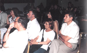 Spectators of the event 2001